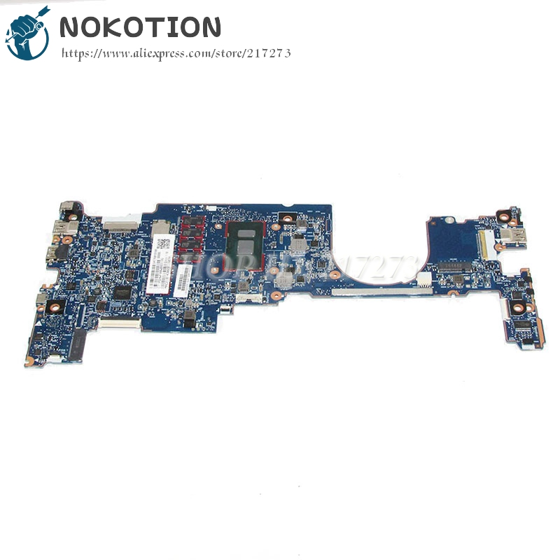 NOKOTION 6050A2848001-MB-A01 920053-601 920053-001 Hp EliteBook X360 1030 G2 Laptop anakart i5-7300U 2.60 GHz 8 GB Ram